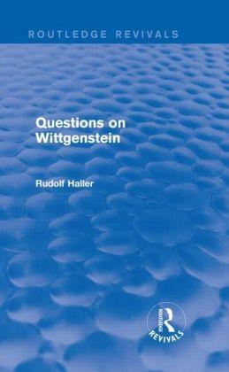 Questions on Wittgenstein (Routledge Revivals)