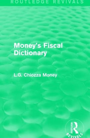 Money's Fiscal Dictionary