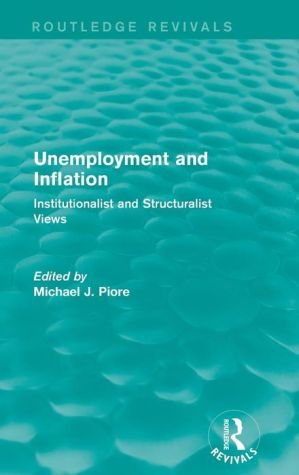 Unemployment and Inflation: Institutionalist and Structuralist Views