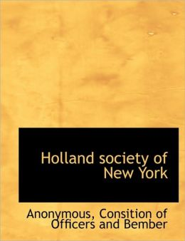 Holland society of New York