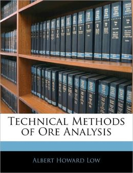 Technical Methods Of Ore Analysis