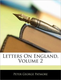 Letters On England, Volume 2