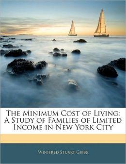 The Minimum Cost Of Living