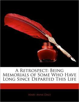 A Retrospect