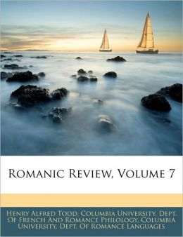 Romanic Review, Volume 7