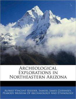 Archeological Explorations In Northeastern Arizona