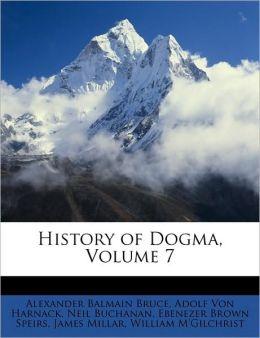 History of Dogma, Volume 7