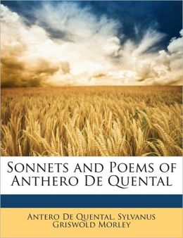 Sonnets and Poems of Anthero De Quental