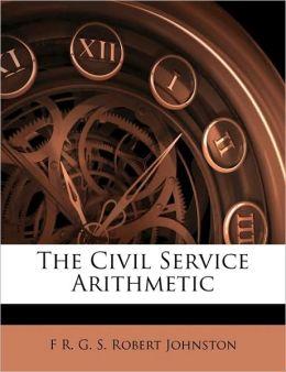 The Civil Service Arithmetic