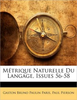 M trique Naturelle Du Langage, Issues 56-58