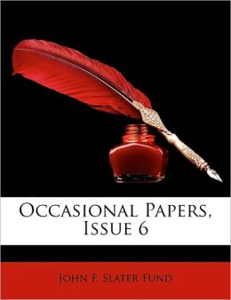 Occasional Papers, Issue 6