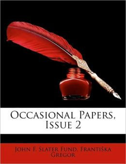 Occasional Papers, Issue 2