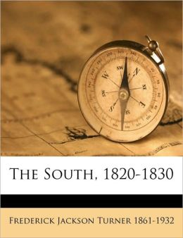 The South, 1820-1830