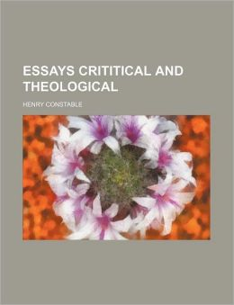 Essays Crititical And Theological