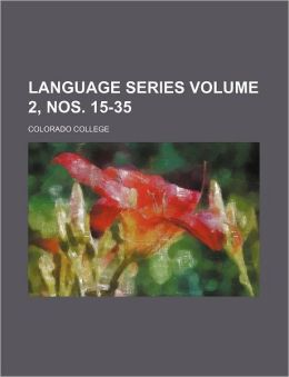 Language series Volume 2, nos. 15-35