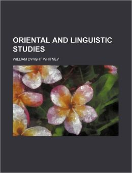 Oriental and Linguistic Studies (Volume 2)