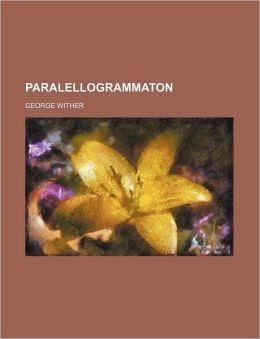 Paralellogrammaton (Volume 33)