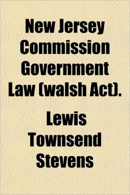 New Jersey Commission Government Law