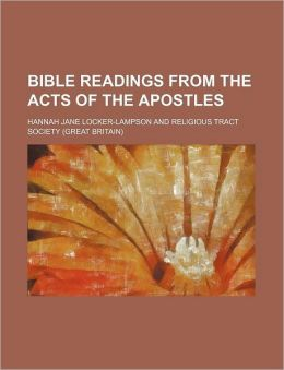 Bible Readings from the Acts of the Apostles