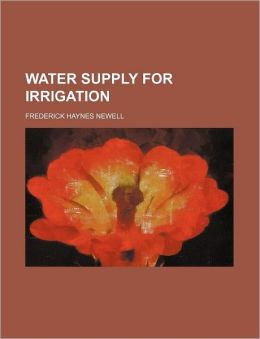 Water Supply for Irrigation