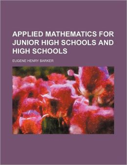 Applied Mathematics for Junior High Schools and High Schools