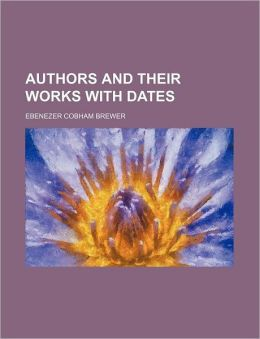Authors and Their Works with Dates
