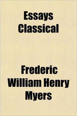 Essays Classical