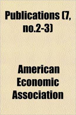 Publications Volume . 3