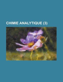 Chimie Analytique (3 )