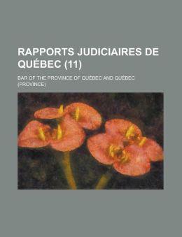 Rapports judiciaires de Qu bec (11)
