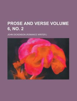 Prose and Verse Volume 6, No. 2