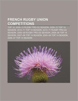 French rugby union competition...