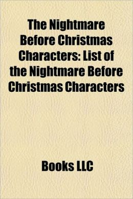 Nightmare Before Christmas Characters: List of the Nightmare Before ...