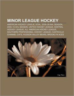 Minor League Hockey: American Hockey League, Echl, 2008-09 Ahl Season, 2009-10 Ahl Season, United Hockey League, Central Hockey League
