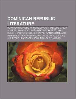 Dominican Republic literature American History X