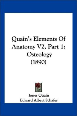 Quain's Elements Of Anatomy V2, Part 1
