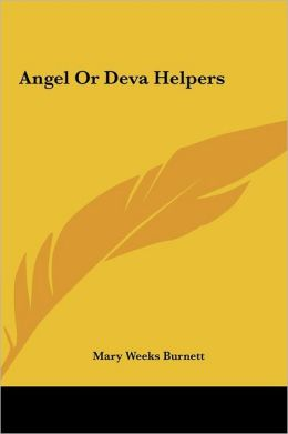 Angel Or Deva Helpers