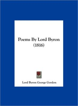 Poems by Lord Byron (1816)