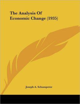 The Analysis Of Economic Change (1935)