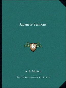 Japanese Sermons
