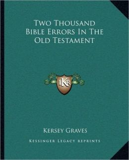 Two Thousand Bible Errors In The Old Testament