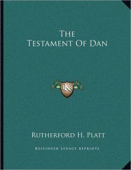 The Testament Of Dan