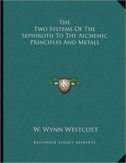 The Two Systems Of The Sephiroth To The Alchemic Principles And Metals
