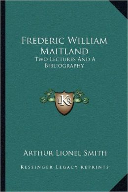 Frederic William Maitland