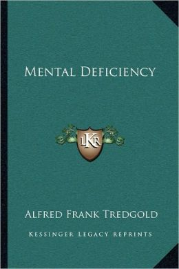 Mental Deficiency