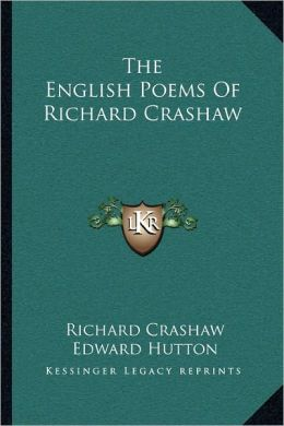 The English Poems Of Richard Crashaw