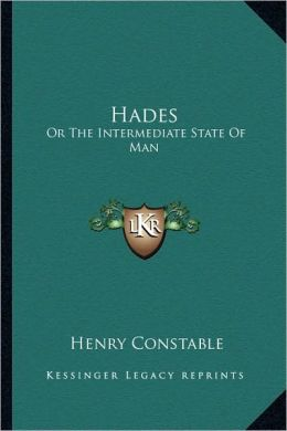 Hades: Or The Intermediate State Of Man