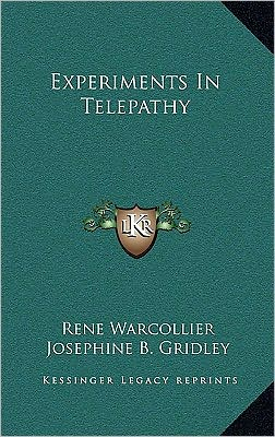 Experiments In Telepathy