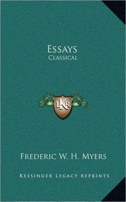 Essays: Classical