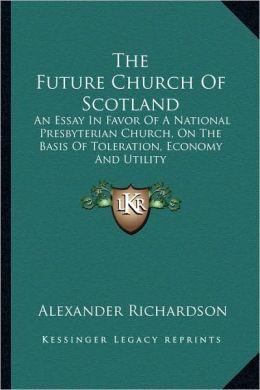 The Future Church Of Scotland